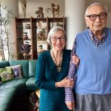 Inez and Gene Gilbert will celebrate 68 years of marriage this fall.